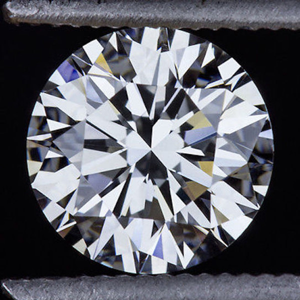 GIA Certified 2.08 Carat Round Diamond D Color VS1 Clarity Excellent Investment