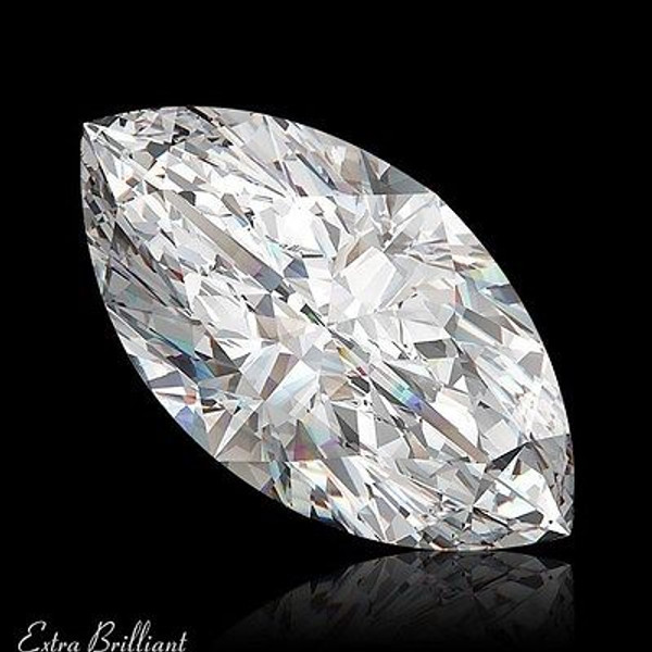 GIA Certified 1.01 Carat Marquise Diamond H Color VS2 Clarity Excellent Investment