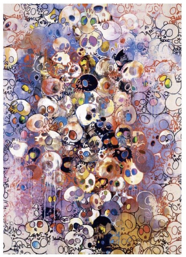 I'VE LEFT MY LOVE FAR BEHIND 2010  BY TAKASHI MURAKAMI