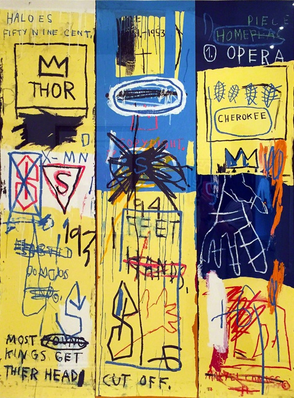 CHARLES THE FIRST 1982 BY JEAN-MICHEL BASQUIAT