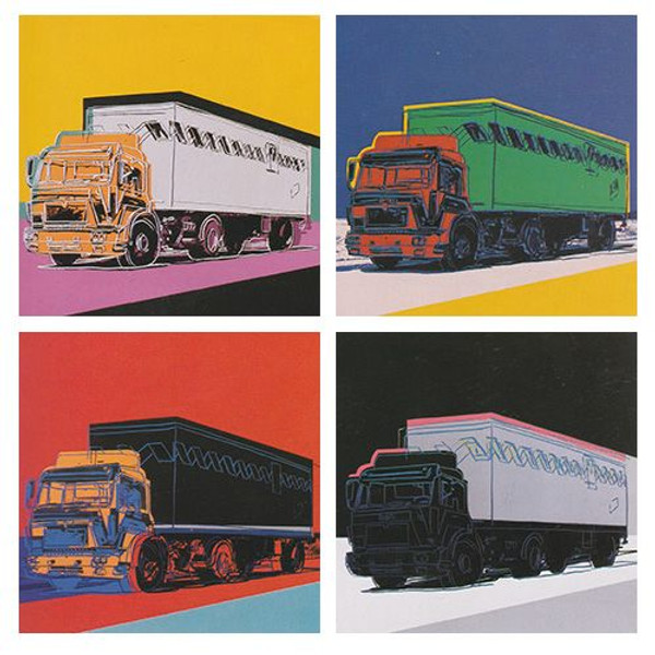 TRUCKS FSII.367-370 ( SET OF 4) BY ANDY WARHOL