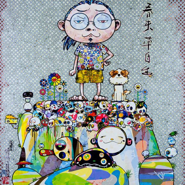 WITH EYES BY TAKASHI MURAKAMI
