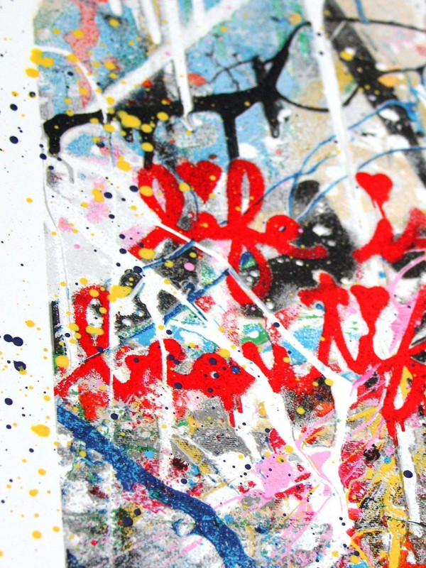 WORK WELL TOGETHER (HAND FINISHED) BY MR. BRAINWASH