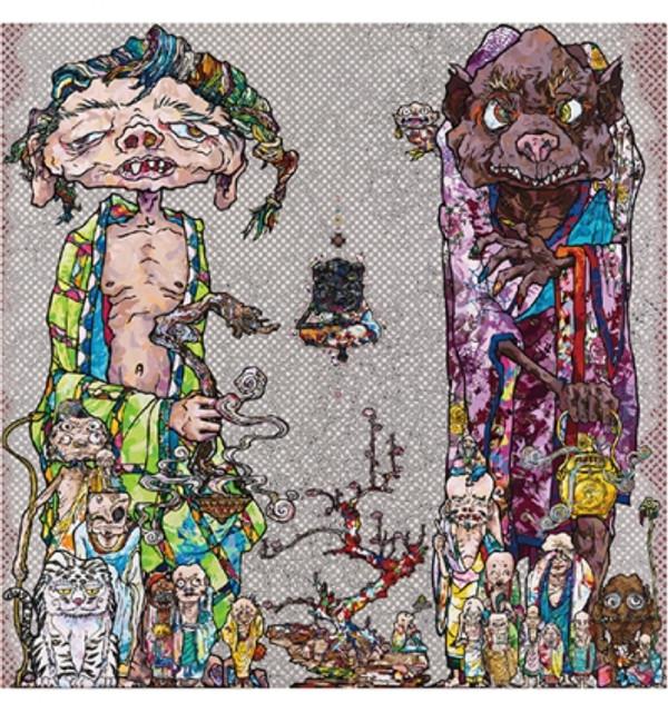 BEHOLD! TIS THE NETHERWORLD  BY TAKASHI MURAKAMI