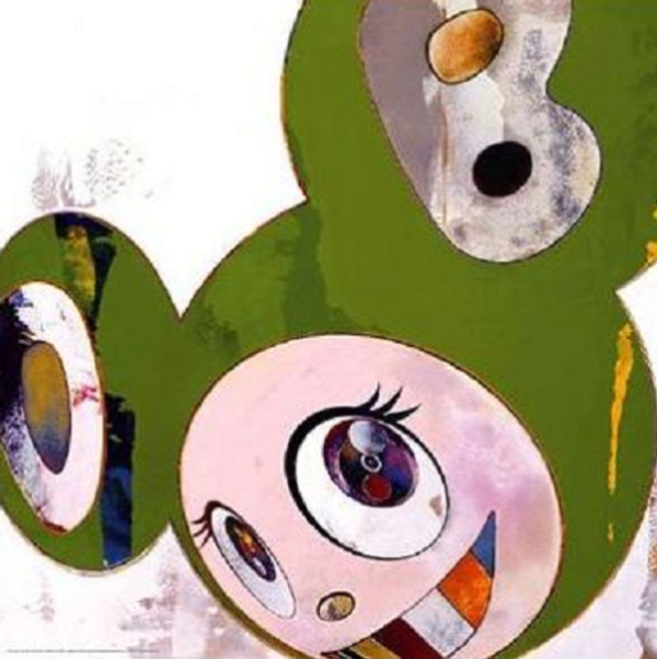 AND THEN, AND THEN KAPPA GREEN DOB BY TAKASHI MURAKAMI