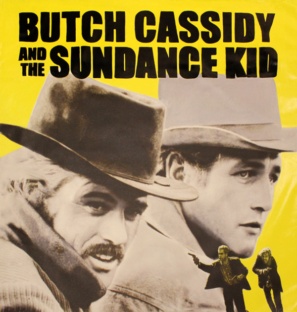 018e84426 BUTCH & SUNDANCE (YELLOW) BY STEVE KAUFMAN