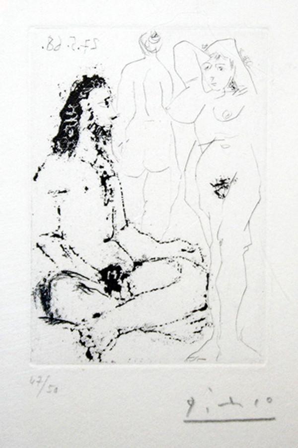 LA CELESTINE (BLOCH 1600) BY PABLO PICASSO