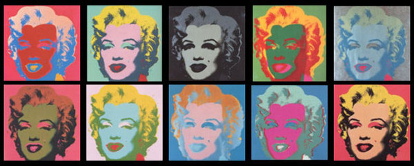 MARILYN SUITE (PORTFOLIO OF 10) BY ANDY WARHOL FOR SUNDAY B. MORNING