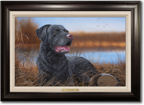 """""""Great Expectations"""" -  Framed Canvas Print w/ Optional Decoy Personalization"""