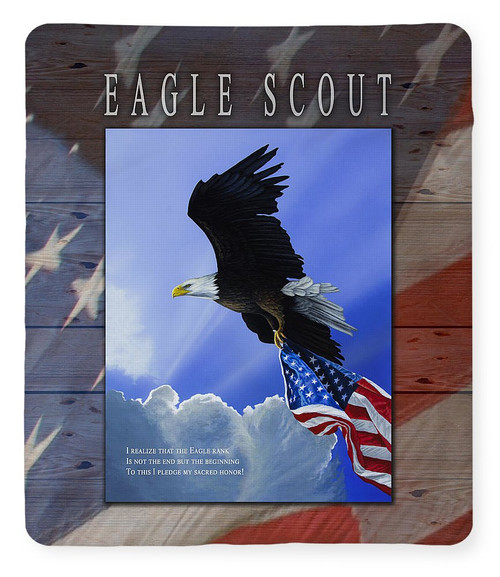 Eagle Scout Tribute / Our Glory - Fleece Blanket