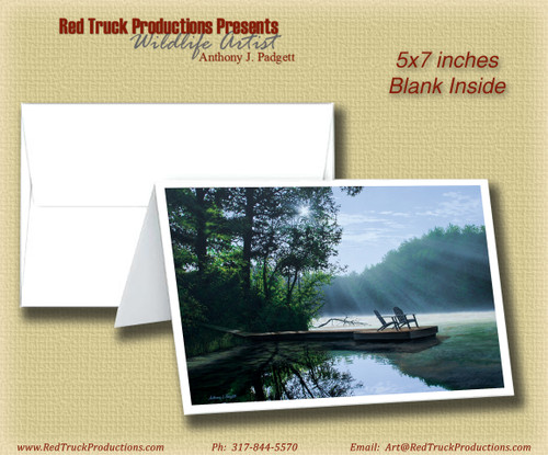 """5x7 Notecard- """"A Place To Ponder"""""""