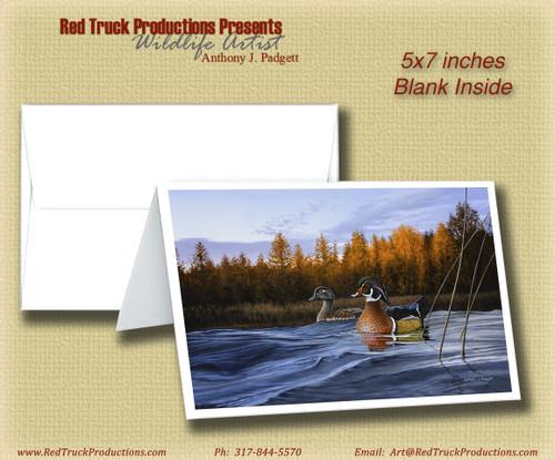 "5x7 Notecard- ""Autumn Front"""