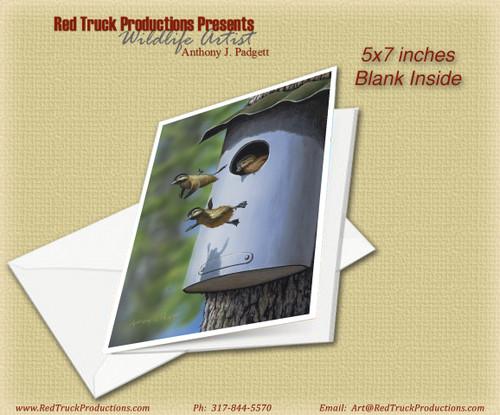 "5x7 Notecard- ""Woodies' First Flight"""