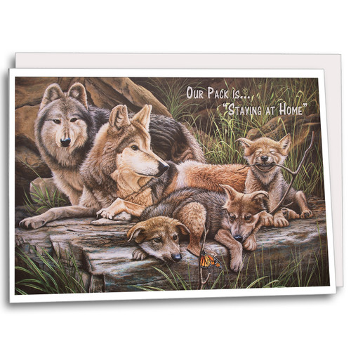 """Our Pack is """"Staying at Home"""""""