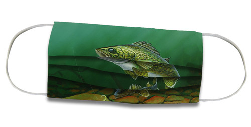 Walleye - Face Mask Coverlet