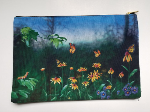 Accessory Bag- Flight of the Monarch Butterfly