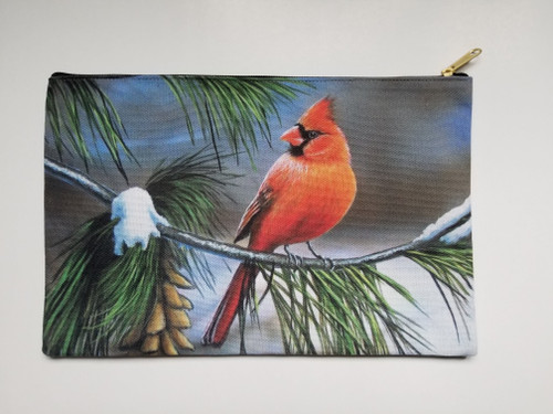 Accessory Bag- Cardinal On Watch