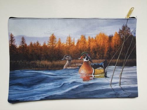 Accessory Bag- Autumn Front - Wood Ducks