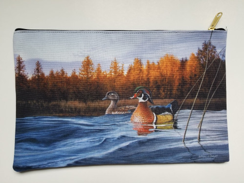 Accessory Bag- Autumn Front - Wood Ducks