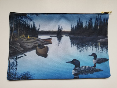 Accessory Bag-  Evening Loons