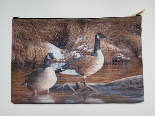 Accessory Bag- Canadian Thaw - Geese