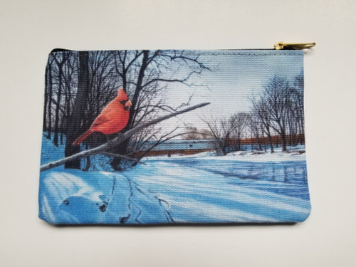 Accessory Bag- Creekside Perch - Cardinal