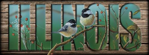 ILLINOIS - Sign - Web Chickadees