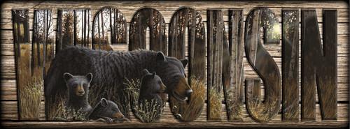 WISCONSIN - Sign - Summer Bounty - Bears