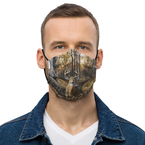 """Busted"" Premium face mask"