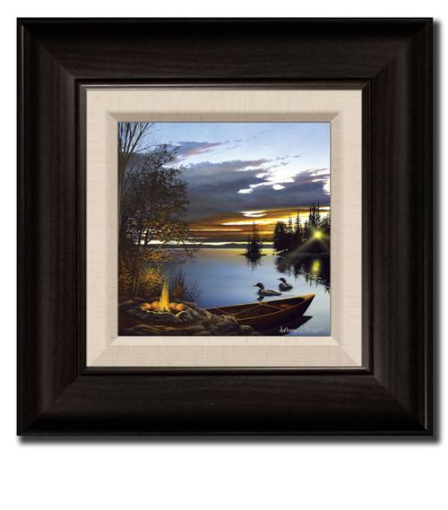 Small Canvas Print - Loon Lake
