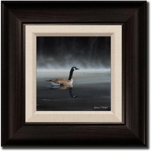 Small Canvas Print - Daybreak Sentry - Canada Goose