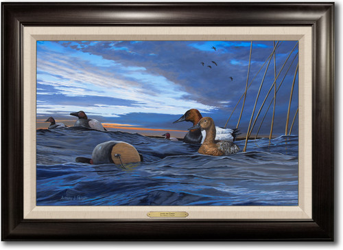 """""""After the Storm"""" -  Framed Canvas Print w/ Optional Decoy Personalization"""