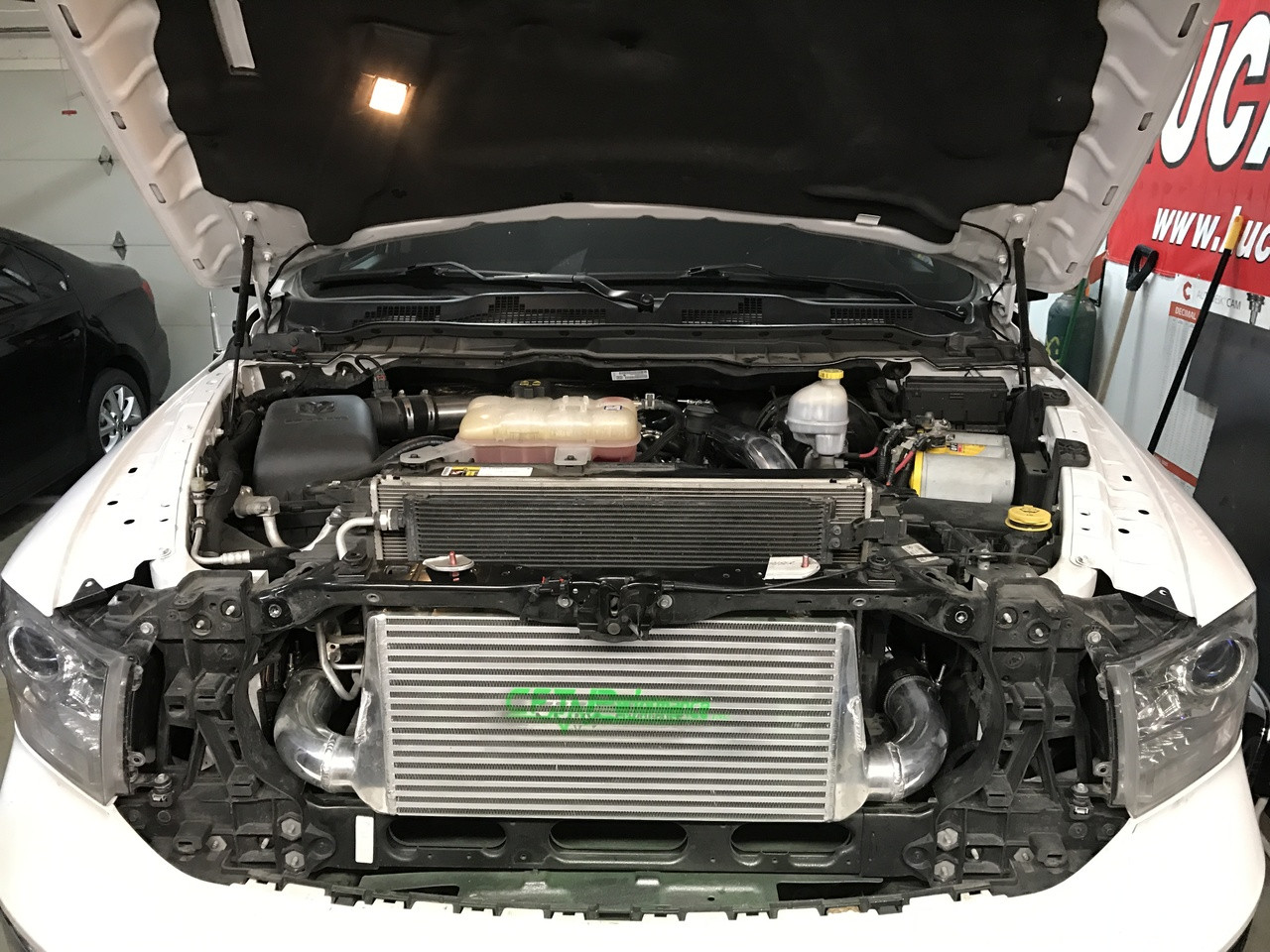 2014-2019 Eco diesel ram Compete inter-cooler System
