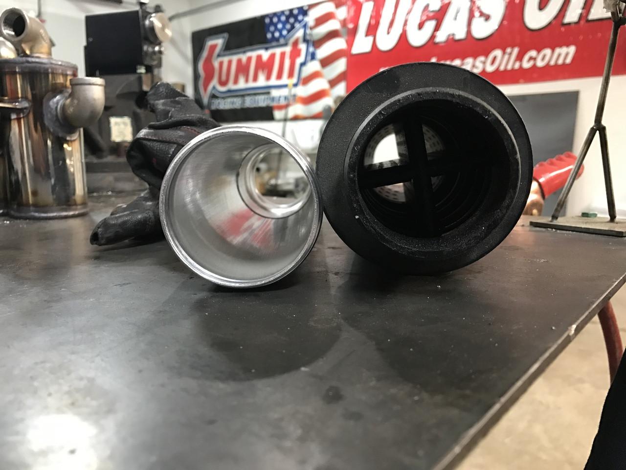 Baffle Solution tube