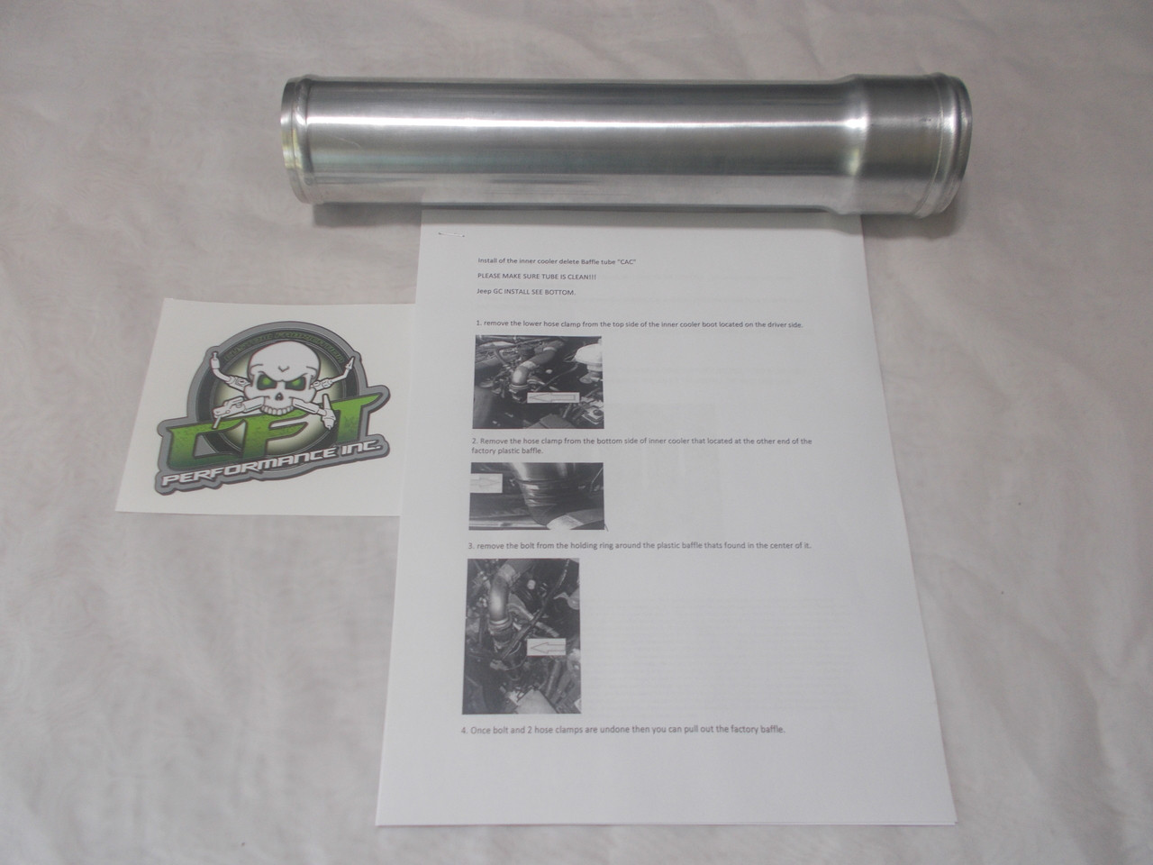 CAC, Intake tube combo 14-15 ONLY!