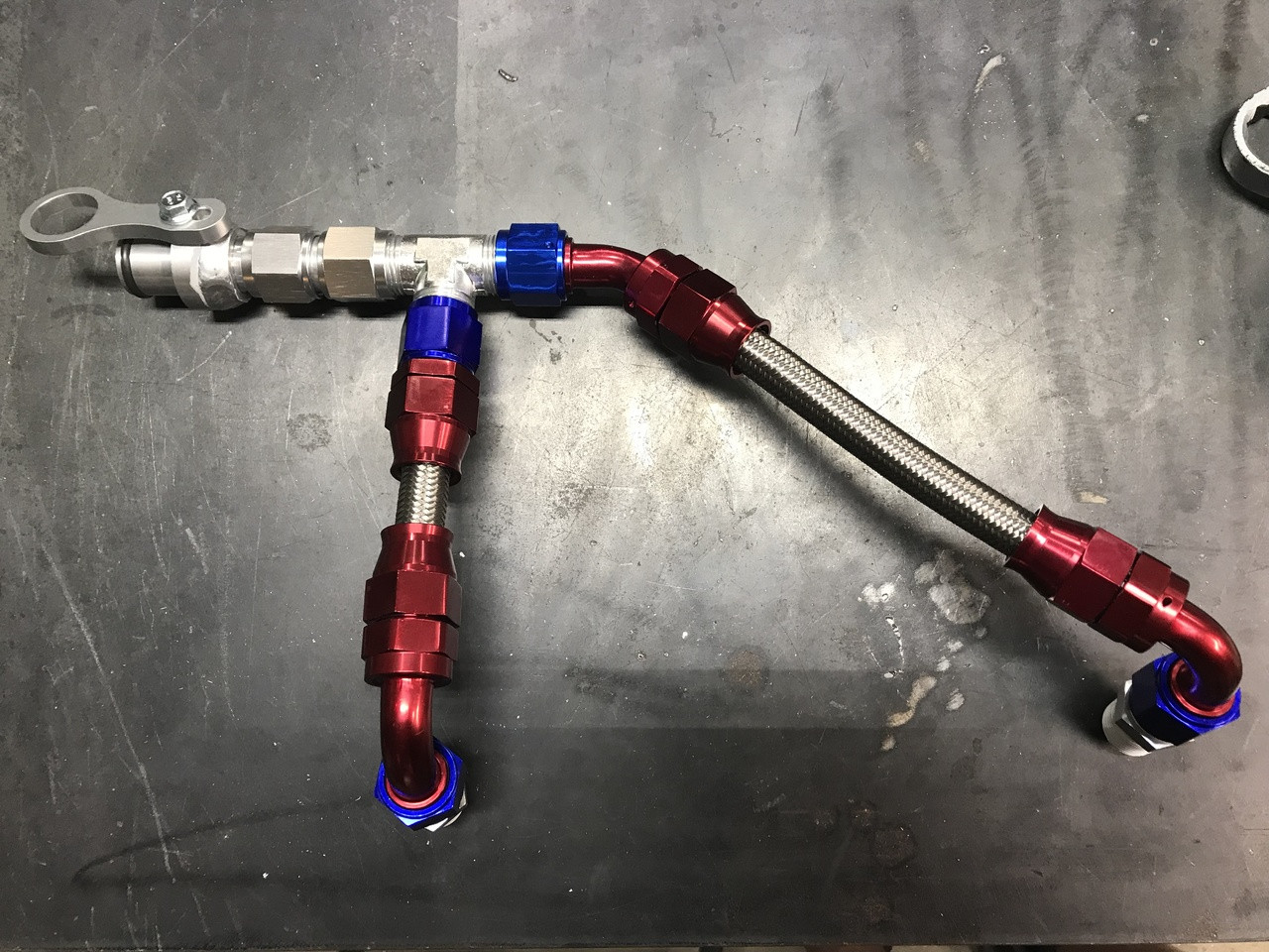 Coolant SS Braided Bypass to 5/6