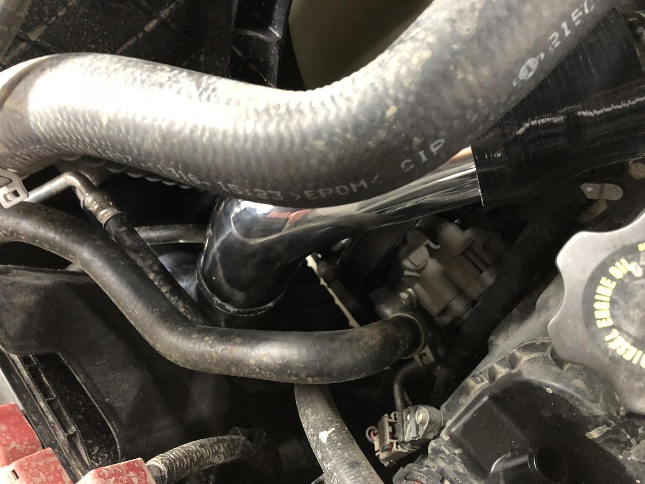 XD Cummins Inter cooler pipes