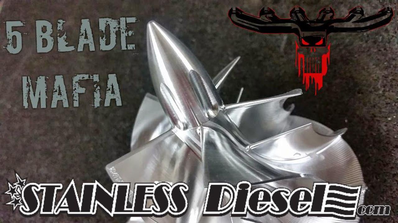 Stainless Diesel 5 Blade Mafia