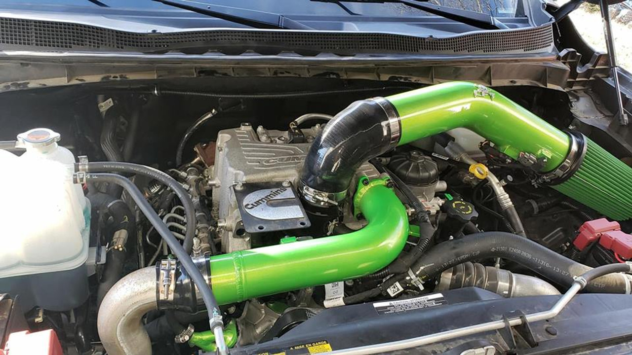 XD Cummins CFT Charge pipe