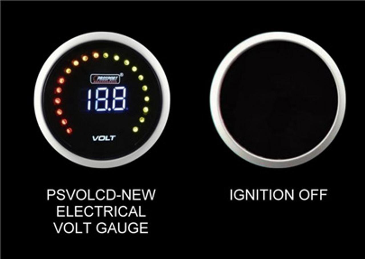 Prosport Volt Gauge Digital Display-52mm