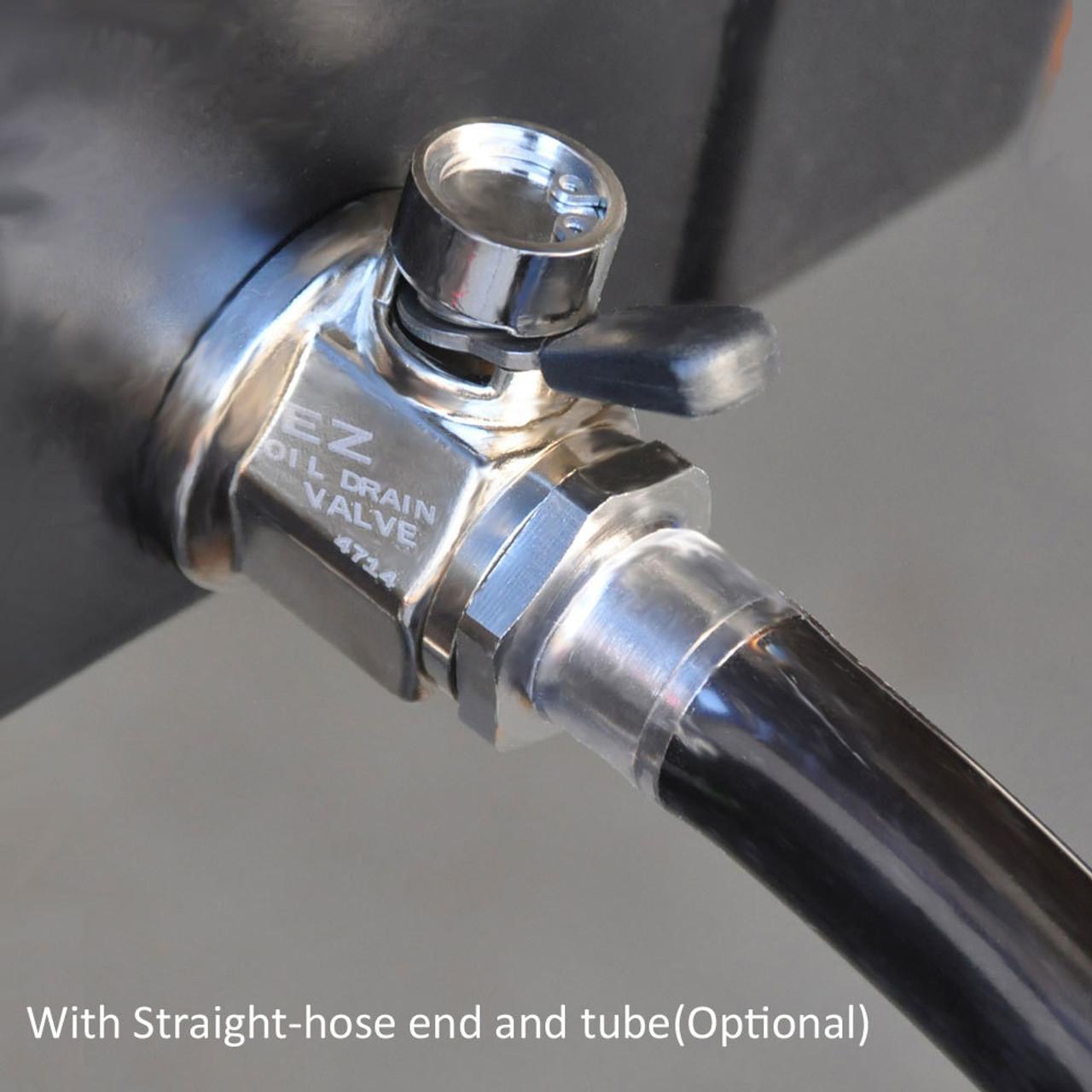 Ez drain hose and hose attachment