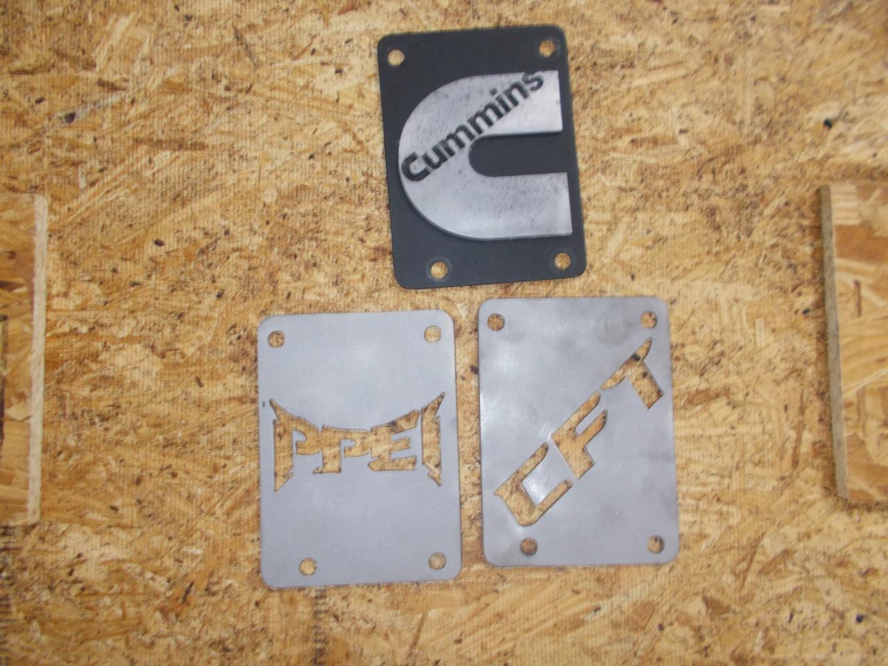 Custom Cut XD Motor Badge