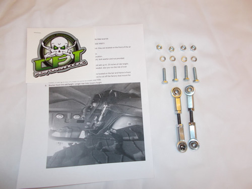 Ram air lift level kit front links only