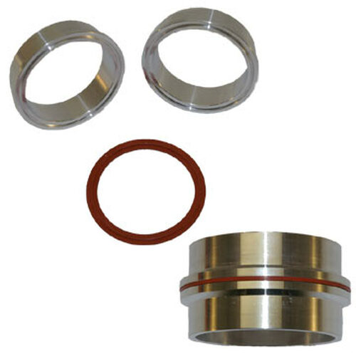 Aluminum V-Band Clamp Rings (Set of 2)