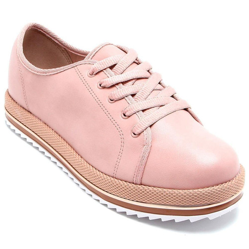 Tractor Shoes Beira Rio Comfort Pink