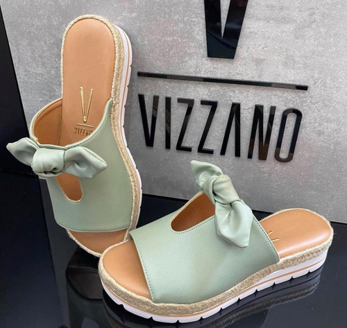 Sandal Vizzano Varnish Green