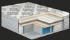 "Kingsdown Vintage Cypress Bay Eurotop 14.5"" Free Delivery/Setup in 4 business days"