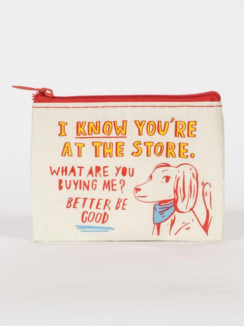 Coin Pouch-At the store