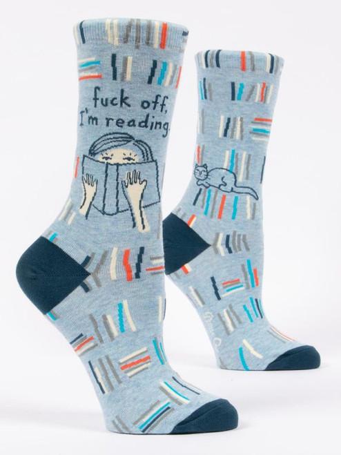 Socks-Fuck Off I'm Reading