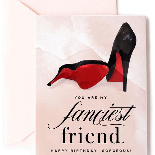 Card-Fanciest Friend